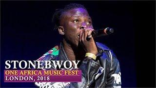 Stonebwoy Energetic Performance | One Africa Music Fest, London 2018