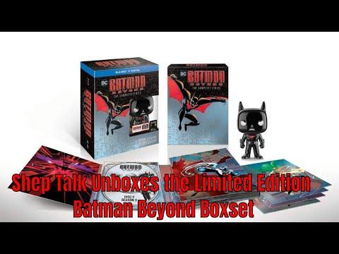 Batman Beyond Limited Edition DVD Unboxing