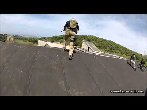 9° Incursori Softair Roma - Video: CQB Combat Training