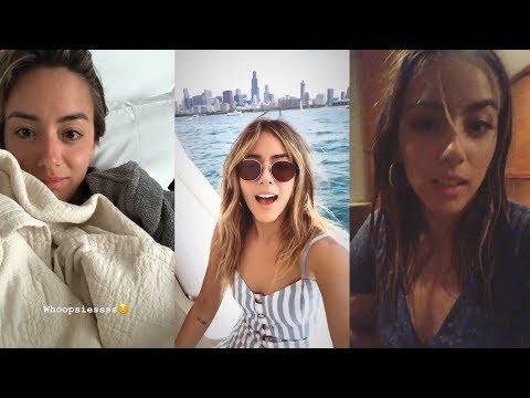 Chloe Bennet   Instagram Story   4 July 2018
