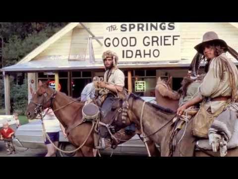 Mountain men horseback ride from Arizona to Canada