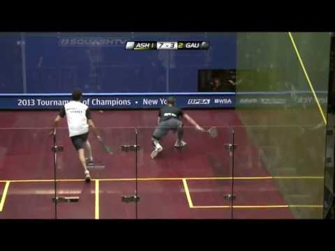 Squash : J.P. Morgan Tournament of Champions 2013 PSA Final Roundup – Ashour v Gaultier