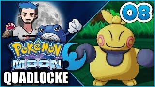 Pokémon Moon Quadlocke Part 8 | TURNING UP THE MAKUHITA by Ace Trainer Liam