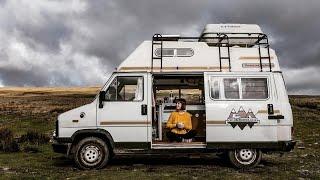 ADVENTURE COUPLE ⛰️Turn FIAT DUCATO Into Unique Self-Build with £1000 Budget 😲 | Explorer Bu by Nate Murphy