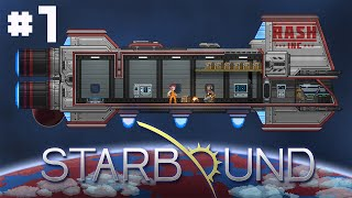 Lets Play Starbound! Rik and Ash are done with Stumpt Industries! They are now on a new journey to explore new planets and...