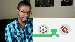 Video Football vs American Football - Which sport is better? REACTION MP3, 3GP, MP4, WEBM, AVI, FLV Januari 2018
