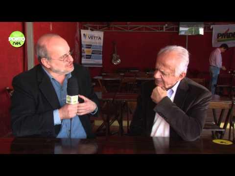 O senador Pedro Simon é o entrevistado de Ricardo Orlandini