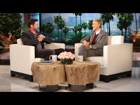 Actor Hugh Jackman tells Ellen about his *little crush* some 20 years ago