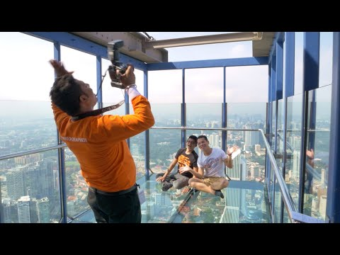 KL Tower Malaysia Full Tour - Sky Deck, Sky Box And Observation Deck | Broewnis Travel