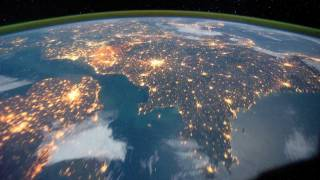 The View from Space - Earth's Countries and Coastlines