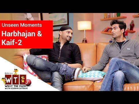 What The Duck 3 | Unseen Moments -2 | Harbhajan Singh & Mohammed Kaif | WTD | Viu India