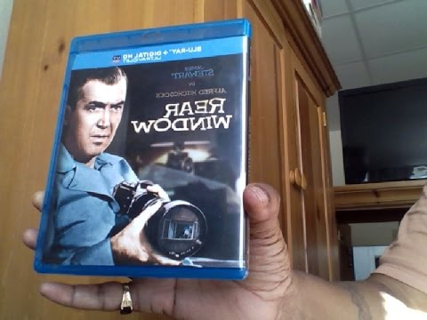 Unboxing Rear Window Blu Ray April  7, 2015 03:20 PM (UTC)