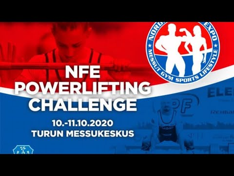 NFE Powerlifting Challenge, Men, Sunday 11.10.2020 at 15:00