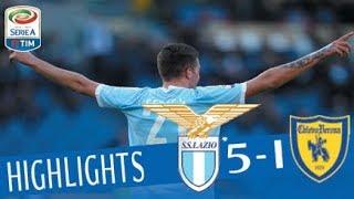 Video Lazio - Chievo 5-1 - Highlights - Giornata 21 - Serie A TIM 2017/18 MP3, 3GP, MP4, WEBM, AVI, FLV Maret 2018