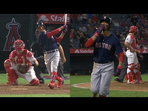 Video: Betts' go-ahead homer in the 15th