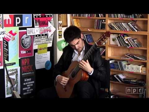Milos - The young newcomer guitarist from Montenegro plays Spanish standards and a passionate ode to his homeland. Set List: Anonymous: Romance Isaac Albeniz: Asturi...