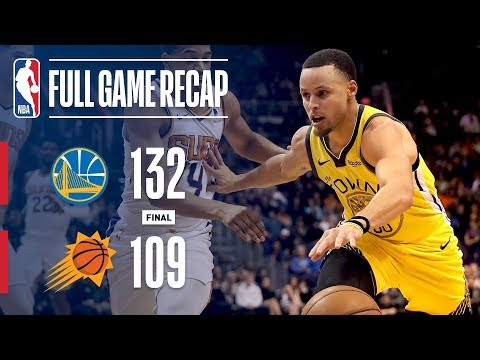 Video: Full Game Recap: Warriors vs Suns | Curry Leads GSW Past PHX