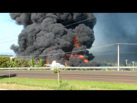 Incendio industria quimica em Restinga/SP cidade satelite à Franca/SP