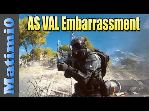 Val - Today I'm using the AS VAL and having a duel with Levelcap in Battlefield 4. Double vision is a series where Levelcap and I switch between our viewpoints throughout the round. Enjoy. LevelCap:...