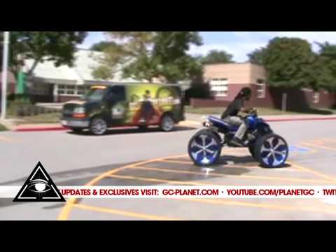 G.C. Monster Heartbreaker ( atv on rims 24 inch davins )