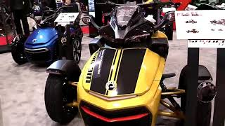 7. 2018 Can Am Spyder F3 S Daytona 500 ABS Complete Accs Series Lookaround Le Moto Around The World