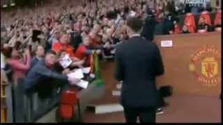 Ryan Giggs First Game As Manchester United Manager Vs Norwich City 26 04 2014