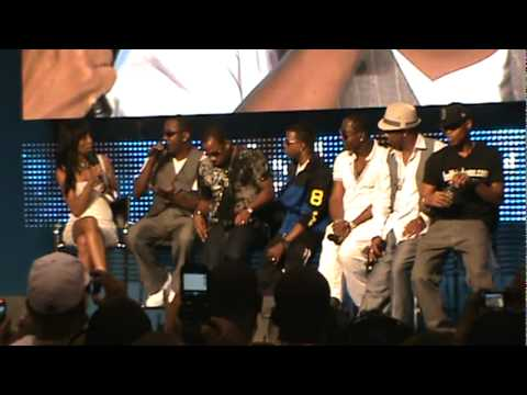 New Edition Interview @ Essence Music Fest, New Orleans - 07/03/11