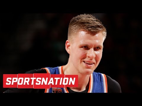 Kristaps Porzingis Coming Around On Knicks? | SportsNation | ESPN