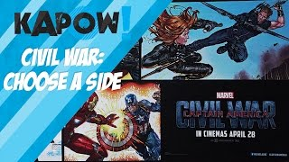 Kapow! Civil War: Choose a side