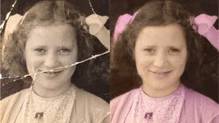 In this Tutorial you can learn How to Repair your Old Damaged Photo in Photoshop.Photoshop Tutorial: Black and White photo Restoration.How to Restore Damaged Photo using Photoshop.Retouching your Damaged photo. Adobe Photoshop: Old Photo Retouching.