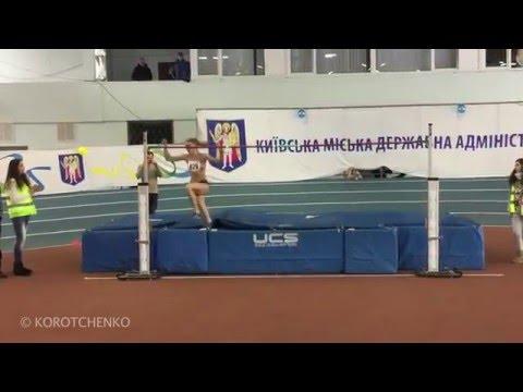 Юлія Левченко 189см (Київ,Різдвяні старти 2016). Автор відео Олег Коротченко