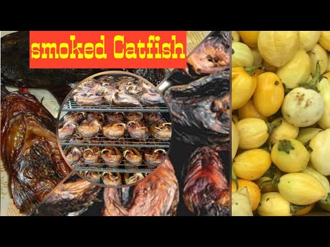 Smoked Catfish & Catfish Soup/Ghana :Nigeria Food|