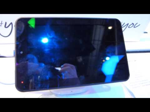 Alcatel One Touch Tab 7 HD hands-on