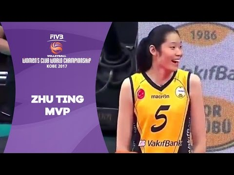 FIVB Volleyball Women's Club World Championship MVP Zhu Ting