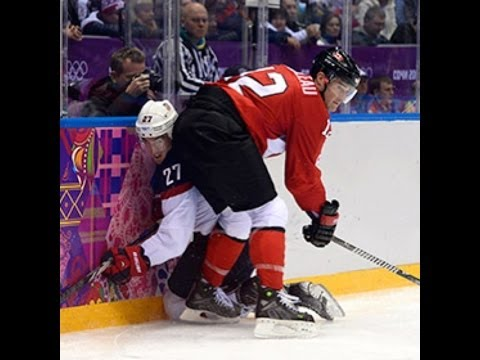 Canada vs USA at Men's ice Hockey Semifinal (1-0) | Sochi 2014 Olympics