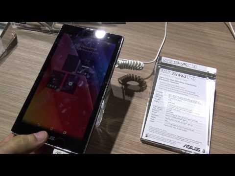 Asus ZenPad C 7.0 Hands On [4K UHD]