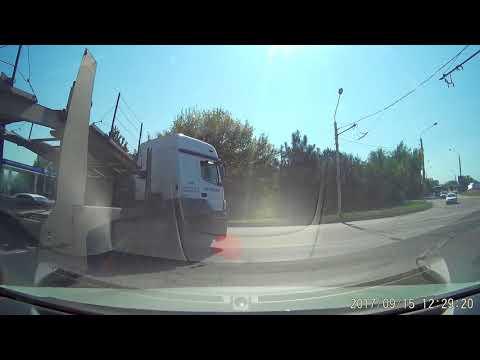 Авария - Не вписался в поворот
