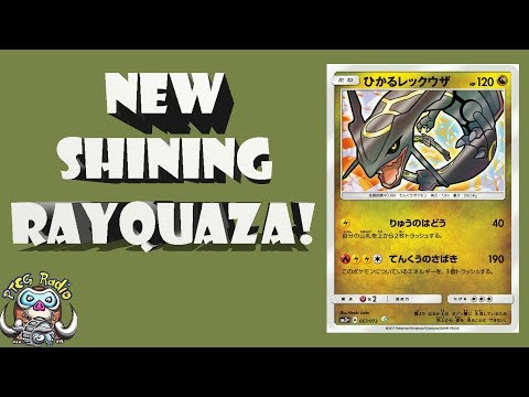 Shining Rayquaza is Back! Great New Tech Card! (Pokémon TCG)