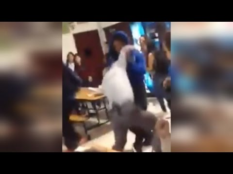 Download Video Watch High School Student Body Slam Principal During Cafeteria Fight