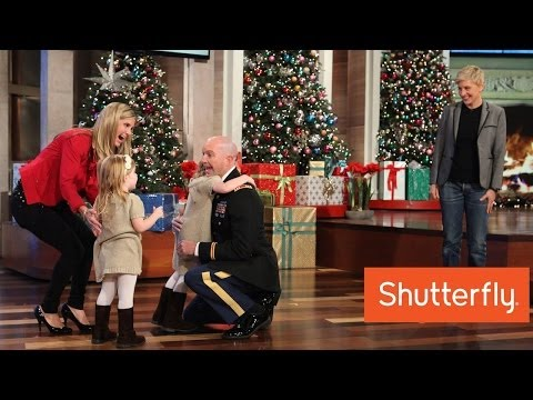 surprise - Ellen surprised a family with an incredible moment, and reminded us all what the holidays are really about.