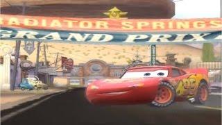Тачки-гонки. Мультик по игре Disney cars lightning McQueen Racing.