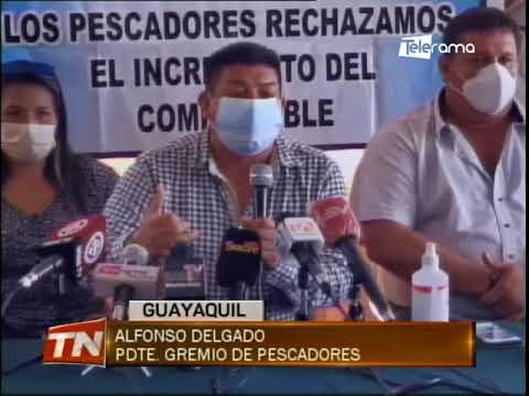 Pescadores de cinco provincias marcharán por precio del diésel tipo 2