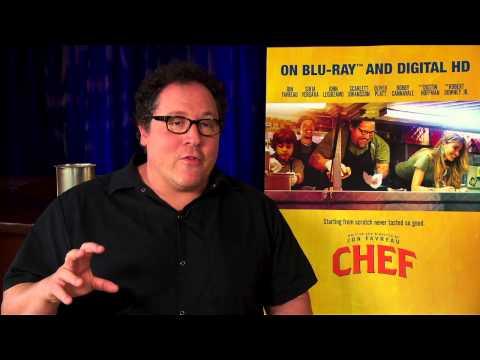 "Writer/Director/Producer/Actor Jon Favreau ""Carl Casper"" Blu-ray Party Interview"