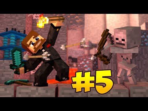 НОВОЕ ПУТЕШЕСТВИЕ #5 - ОПАСНОЕ ПОДЗЕМЕЛЬЕ И ЛЕСОПИЛКА В КОЛОНИИ - Minecraft