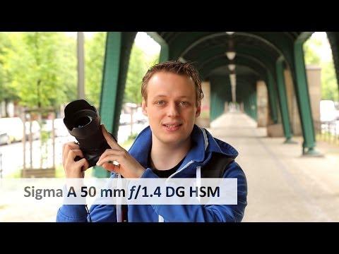 Sigma 50 mm f/1.4 DG HSM [Art] | Portrait-Objektiv der Oberklasse im Test [Deutsch]