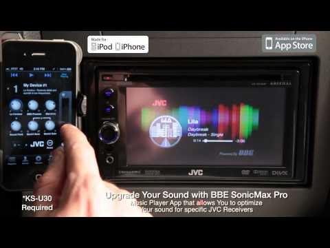 VIDEO: JVC Mobile Entertainment 2012 - Multimedia APP Link - BBE SonicMax Pro