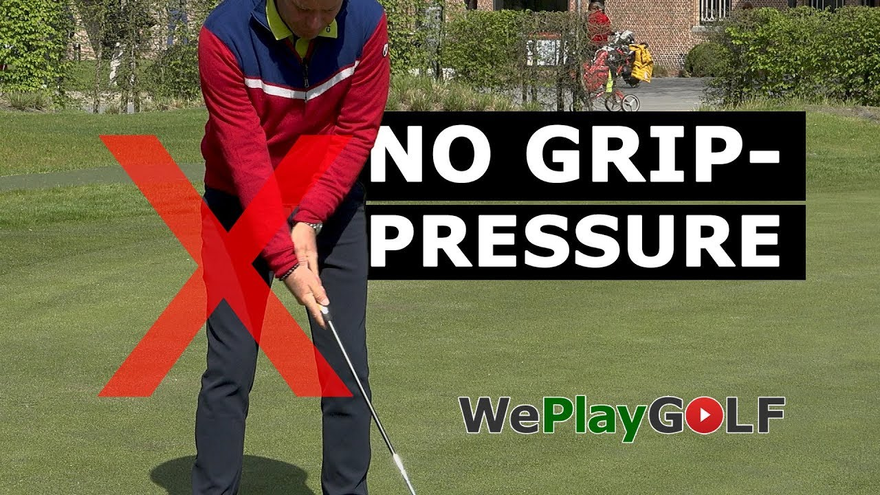 With this putting practice you will never grip the putter too tight