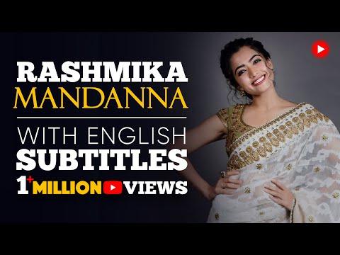 ENGLISH SPEECH | RASHMIKA MANDANNA: Dream BIG! (English Subtitles)