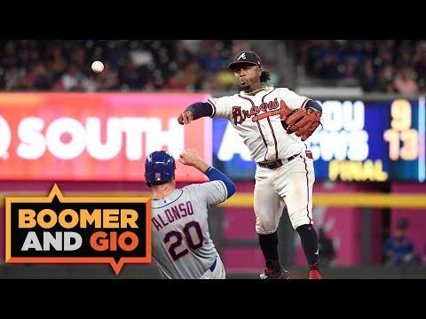 Video: Boomer & Gio: Braves THROTTLE Mets! | Boomer & Gio