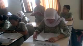 pembelajaran PPKn simulasi sidang BPUPKI kelas VII E SMP BSS Malang